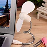Usb Gadgets - Flexible Mini Usb Cooling Fan Cooler Pc Computer Notebook Summer Portable Powered By 6 Colors 1pc - Office Women Gadgets Desk Toys Light Camping