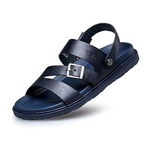 zro-mens-open-toe-adjustable-summer-sandal-lightweight-8-uk-blue