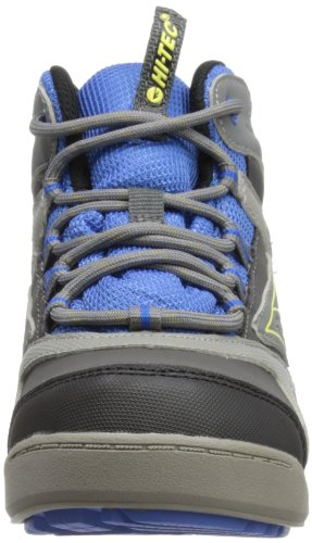 Hi-Tec Ridge Wp Jr, Jungen Trekking- & Wanderstiefel Blau (Grey/Royal Blue)