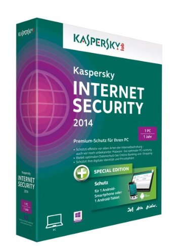 Kaspersky Internet Security 2014 - 1 PC + Android Security