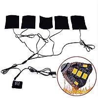Tragbare Elektrische Heizkissen 5 V 8 Watt USB Heizung Weste Heim Freien Winter Camping Nacht Niedrige Temperatur... preisvergleich bei billige-tabletten.eu