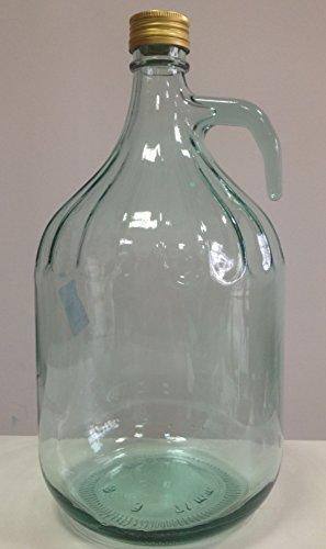 GLASBALLON GÄRBALLON FLASCHE GLASFLASCHE WEINBALLON 3 LITER GLAS BALLON 3L NEU BDG3Z