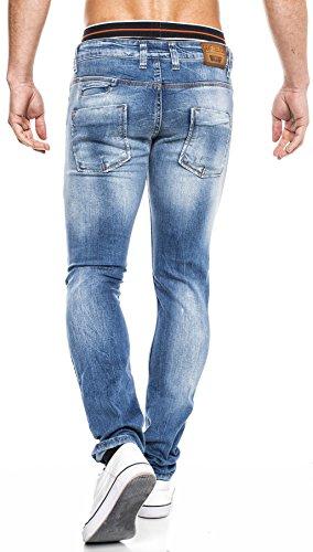 LEIF NELSON - Jeans - Homme - Modell 1051 Blau