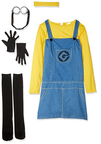 Female Minion (Despicable Me 2™) - Adult Costume Lady : SMALL (Despicable Me 2 Kostüme)