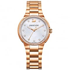 Idea Regalo - Swarovski Citi Mini Orologio al Quarzo, da donna, con display analogico e oro rosa metallo braccialetto 5221176