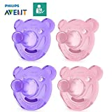 Philips Avent Tétine Soothie//0-3mo & 3+ Mo//Taille 1& Taille 2//Soothie Ours...