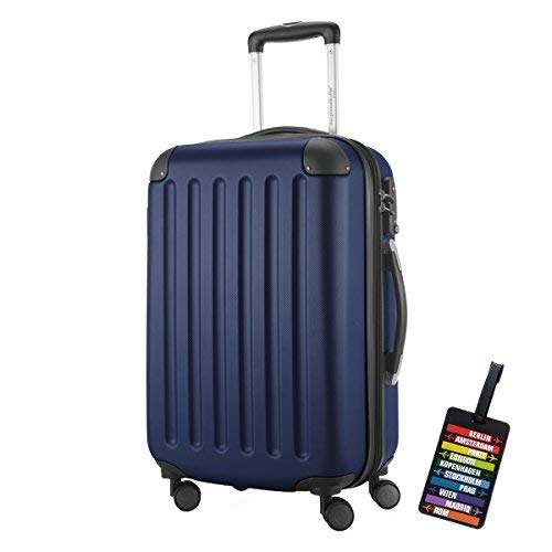 HAUPTSTADTKOFFER® Hartschalen Koffer SPREE 1203 · NEU 4 Doppel-Rollen · MATT · ...
