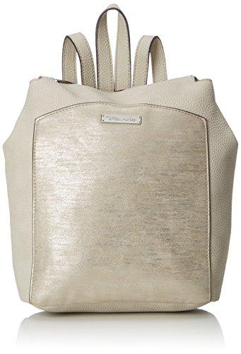 Tamaris Elsa Backpack, Women's Backpack Handbag, Beige (Pepper Comb), 7x30x34 cm (B x H T)