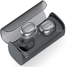 Wireless Earbuds, True Wireless Stereo Bluetooth 4.1 Headphones Cordless Earphones Sweatproof In-Ear Headset with Mic