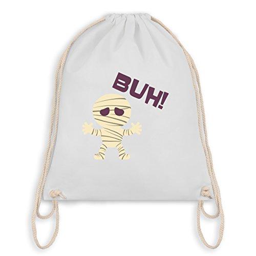 Halloween - Mumie Buh süß - Unisize - Weiß - WM110 - Angesagter Turnbeutel / Gym (Aller Zeiten Halloween Beliebte Kostüme)