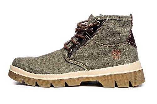 Timberland Unisex Adults    a1bb8 Boots Green Size  9 5 UK