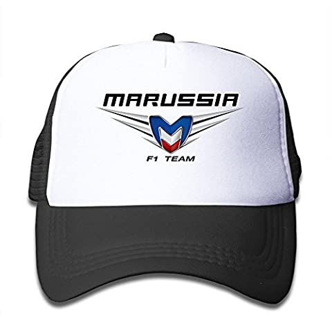 Bang Kids Kinder russischen Super Marussia Logo Mesh Back Cap Gr. One size, Schwarz