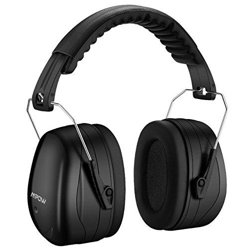 Gehörschutz, Mpow Sicherheit Ohrenschützer, Lärmschutz SNR 34 dB Gehörschutz, ANSI S3.19&CE Zertifiziert, Kapselgehörschützer für Erwachsene und Kinder