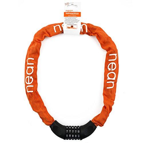 nean-zahlenschloss-mit-stahlkettengliedern-fr-fahrrad-und-motorrad-orange