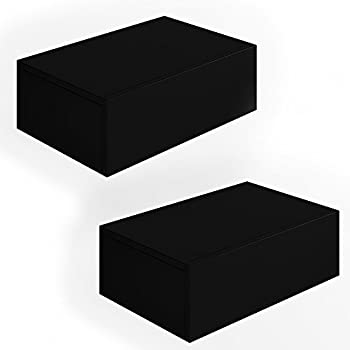 2x nachttisch kommode nachtschrank schublade ablage. Black Bedroom Furniture Sets. Home Design Ideas