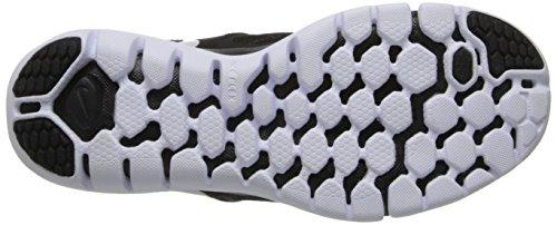Nike Wmns Flex 2014 Rn, Scarpe da Corsa Donna (BLACK/SLVR-WHITE-LGHT ASH GRY)