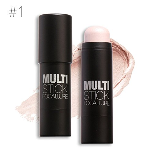 Focallure Face Makeup Foundation Stick Concealer Creamy Perfect Cover Oil-control Smooth Base Face Blusher Face Sticker new product