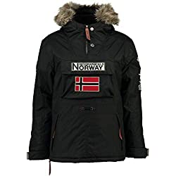 Geographical Norway Parka Hombre Boomerang Negro M