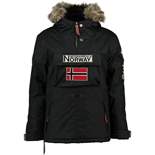 Geographical Norway Parka Hombre Boomerang A Negro XL