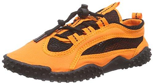 Playshoes Badeschuhe, Aquaschuhe, Surfschuhe Unisex-Erwachsene Aqua Schuhe Orange (orange 39)