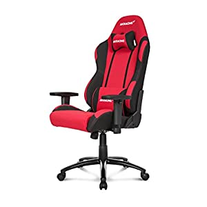 AKRacing Prime – AK-K7018-BG – Silla Gaming, Color Negro/Verde