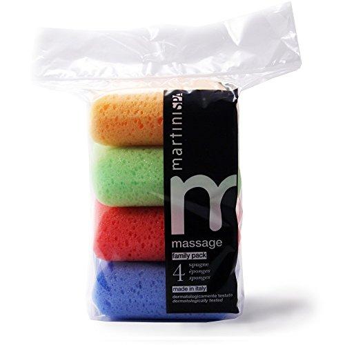 Martinispa Massage Color esponjas cuadradas