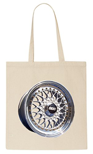 BBS RS Wheel T-Shirt Tote Bag (Stretch-lowrider)