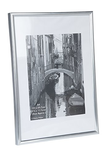 the-photo-album-company-21-x-30-cm-a4-poster-photo-frame-silver