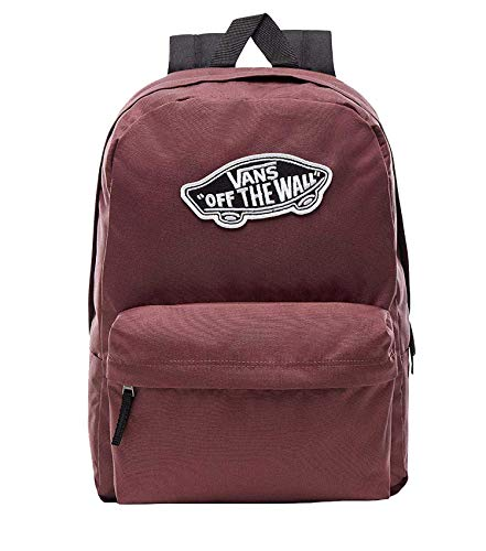 Vans Realm Backpack Mochila Tipo Casual, 42 cm, 22 Liters, Rojo (Catawba Grape)