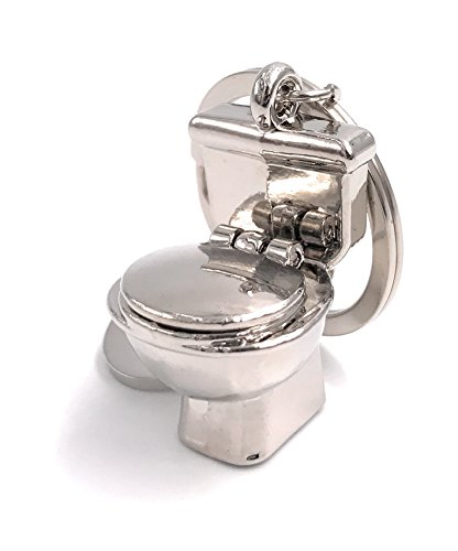 H-Customs Klo Toilette Sanitär Schlüsselanhänger