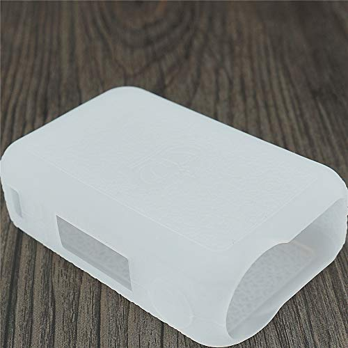 DSC-Mart Texture Schutzhülle für Uwell Crown 4 IV 200W TCBox Mod Silikon Rubber Sleeve Cover Shield Wrap, farblos