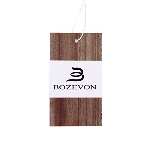 BOZEVON Women's Fashion Maniche lunghe Vest Slim Vogue Gilet Long Coats bianca