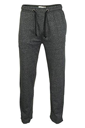 Tokyo Laundry Herren Pyjamahosen 'Grantley' Schwarz Marl