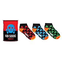 Socks - Trumpette - Skull Kids Can-Coin Bank 4-7yrs Baby Accessories Set of 3