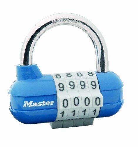 Master Lock 1523EURD - Candado de combinación, colores surtidos