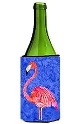 Pink Flamingo Wine Bottle Beverage Insulator Beverage Insulator Hugger