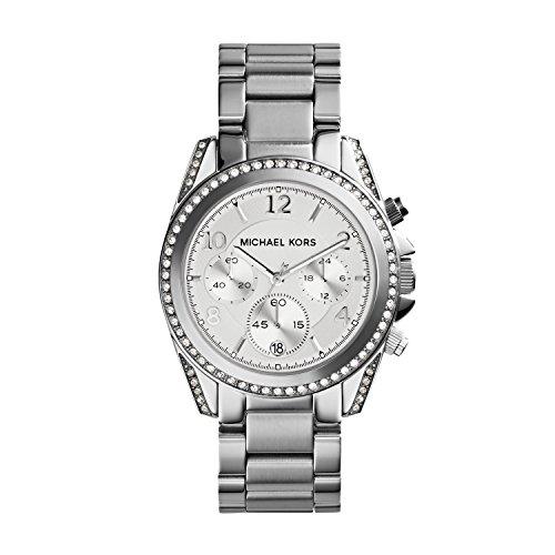 797b6dfe3945 Reloj MICHAEL KORS MK5165 de cuarzo para mujer con correa de acero  inoxidable