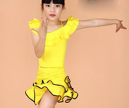 ädchenkleidung und Tanzkostüme Theatrical Costume, 150cm, yellow (Theatricals Tanz Kostüme)