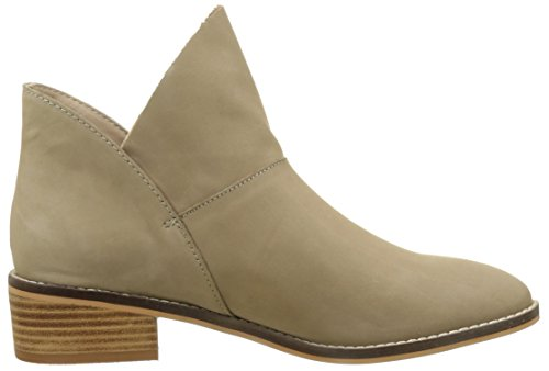 Buffalo London Damen 416-3176 Nubuck Leather Kurzschaft Stiefel Grau (TAUPE 23)