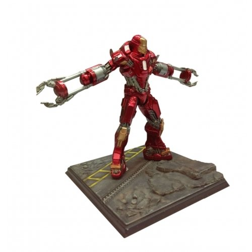 Dragon Action Heros Iron Man 3 Mark 35 Red Snapper Anzug vorkompilierte ()