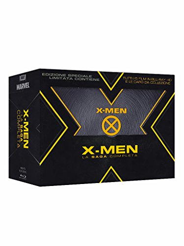 X-Men - La Saga Completa (Limited Ed) (5 Blu-Ray+5 cartoline)