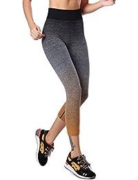 Qutool - Mallas elásticas de mujer para deporte, yoga, correr