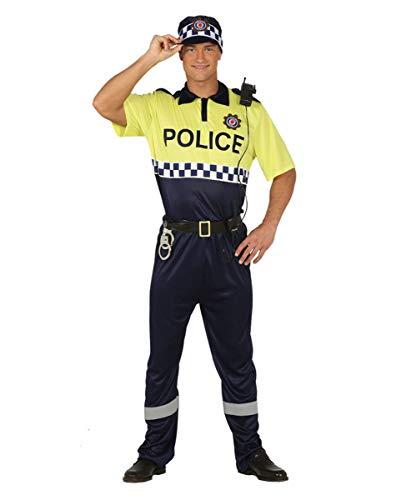 Horror-Shop Spanischer Polizist Kostüm für Fasching & Halloween L