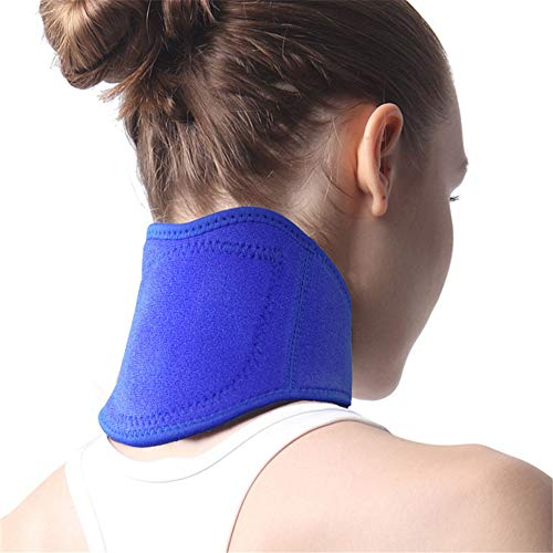 Tnxan Neck Support and Support Collar Posture Corrector Neck Shoulder Relief Package Stiff Neck Pain Relief Posture Braces for Men, Women, The Elderly - Womens Lady Hunter 8