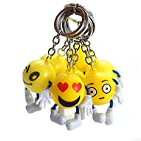 Balain Classic Toys Games Models emoji keychain with legs hard (random)
