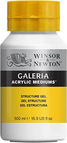 Winsor & Newton 3050805 Galeria Strukturgel, 500 ml Topf, zum Einbetten unterschiedlichster...
