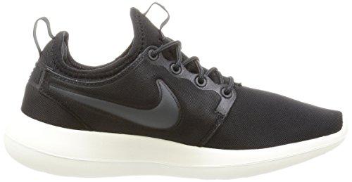 Nike  002, Baskets Basses Femme Noir (Black/Anthracite/Sail/Volt)