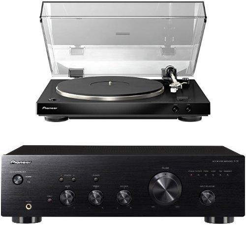 Pioneer PL-30-K Giradischi Stereo + Amplificatore