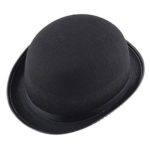 Xsj Event-Und Partyhüte Schwarzer Halloween-Zauberer Hat Magic Hat Jazz Hybrid Fiber Visor Vorgebogene Männer Und Frauen Hüte Großhandel