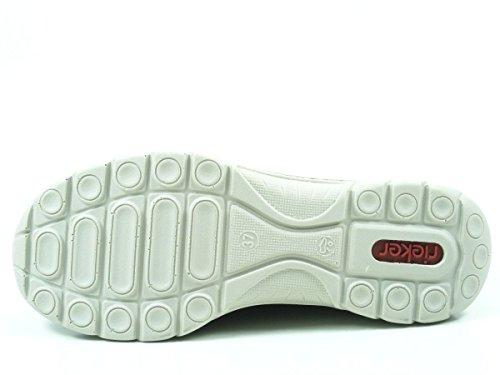 Rieker L3269, Sneaker Infilare Donna Marrone (Brandy/cigar/fango/beige 24)